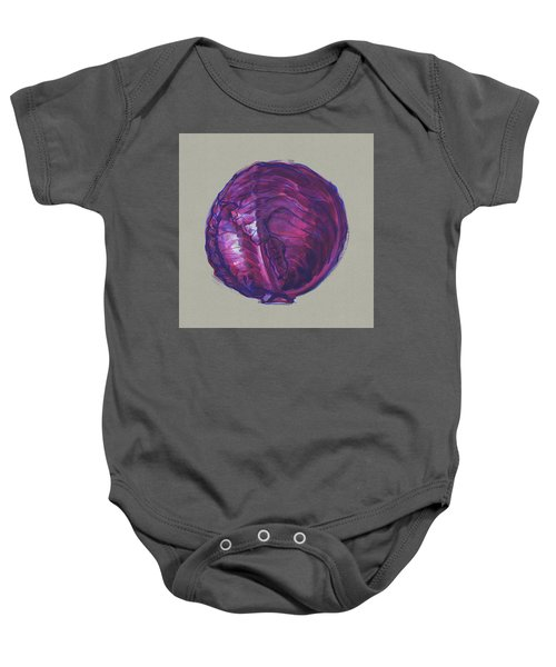 Red Cabbage Baby Onesie