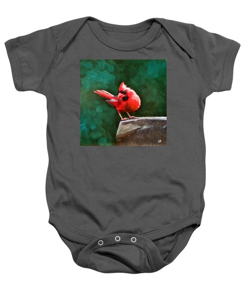 Red Cardinal Baby Onesie