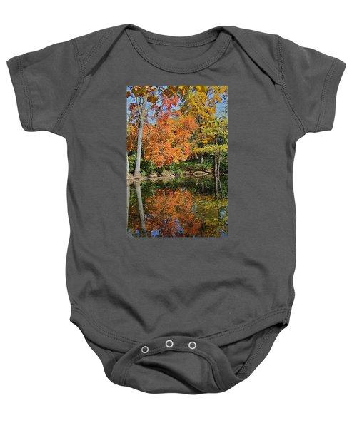 Red Cedar Banks Baby Onesie