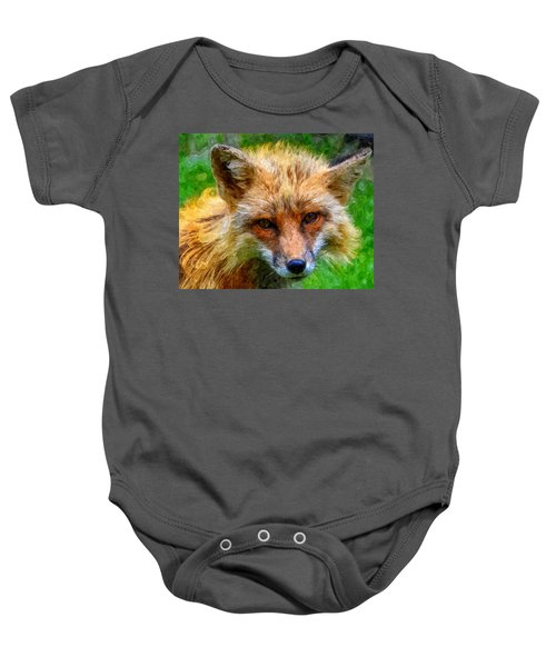 Red Fox Baby Onesie