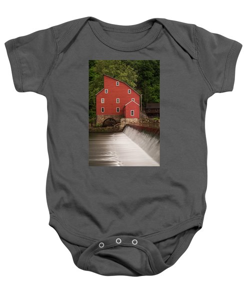 Red Mill Clinton New Jersey Baby Onesie