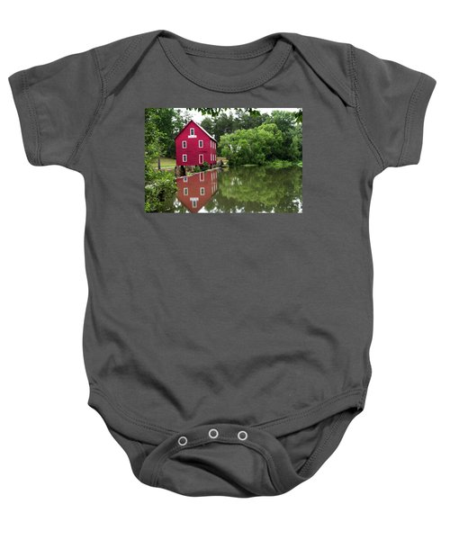 Red Mill Baby Onesie