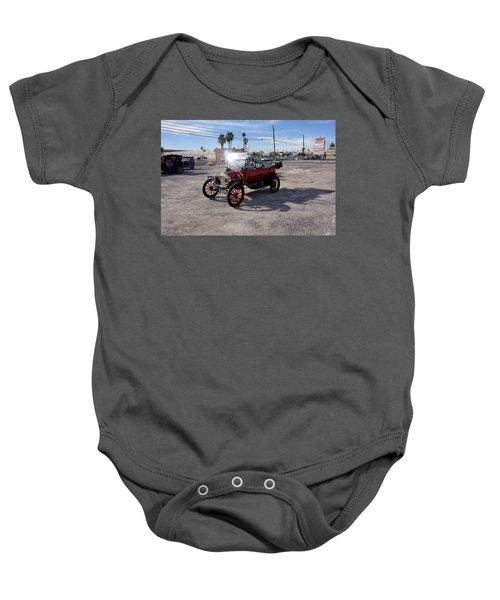 Red Roadster Baby Onesie