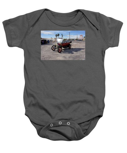 Red Roadster Baby Onesie