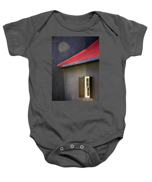 Red Roof Baby Onesie