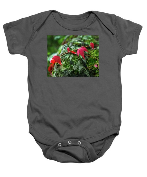 Baby Onesie featuring the photograph Red Vine by Bill Pevlor
