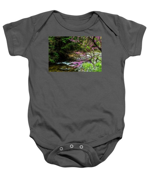 Redbud And River Baby Onesie