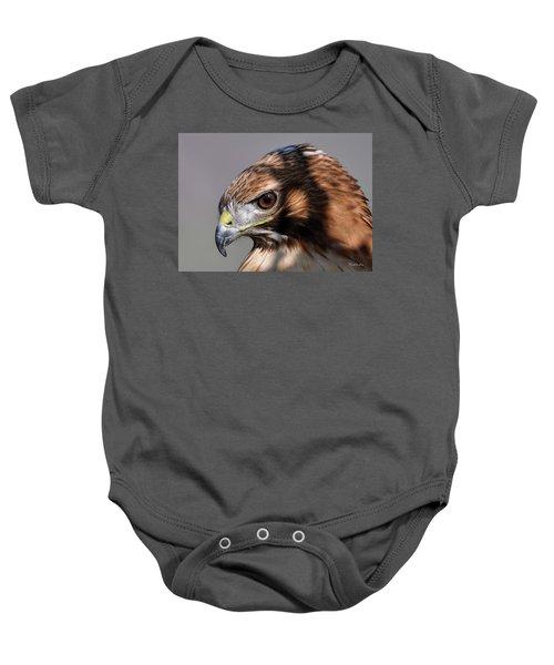 Redtail Hawk Baby Onesie