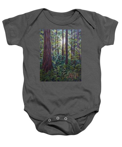 Redwoods Baby Onesie