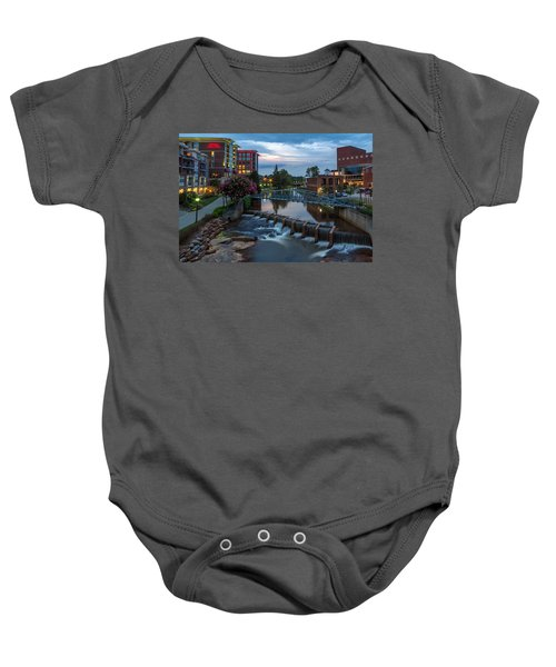 Reedy River View At Sunset Baby Onesie