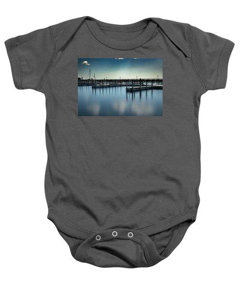 Reflected Harbor Baby Onesie