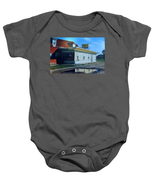 Reflections Of A Diner Baby Onesie