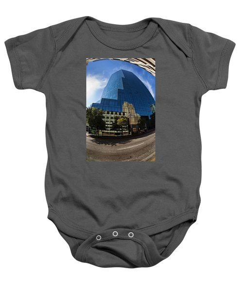 Reflections Of Fort Worth Baby Onesie