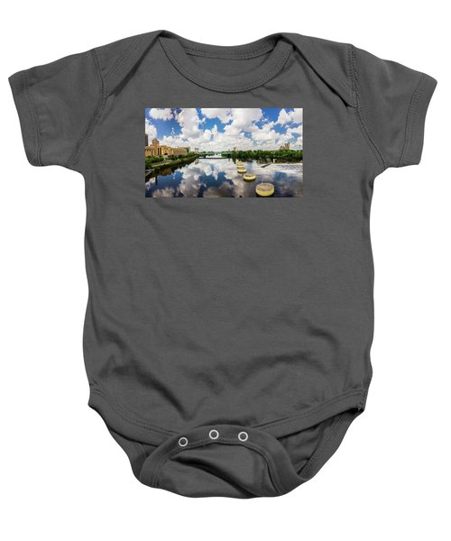 Reflections Of Minneapolis Baby Onesie