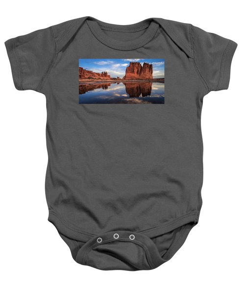 Reflections Of Organ Baby Onesie