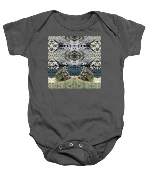 Reflections Of Self Before Entering The Vortex Baby Onesie