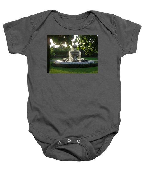 Regents Park Fountain Baby Onesie