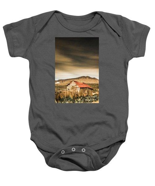 Regional Ranch Ruins Baby Onesie