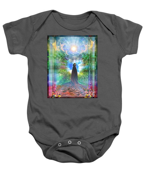 Rejoice-thy-young Baby Onesie