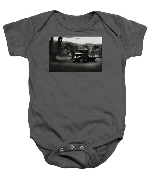 Baby Onesie featuring the photograph Relic Truck by Bill Wakeley