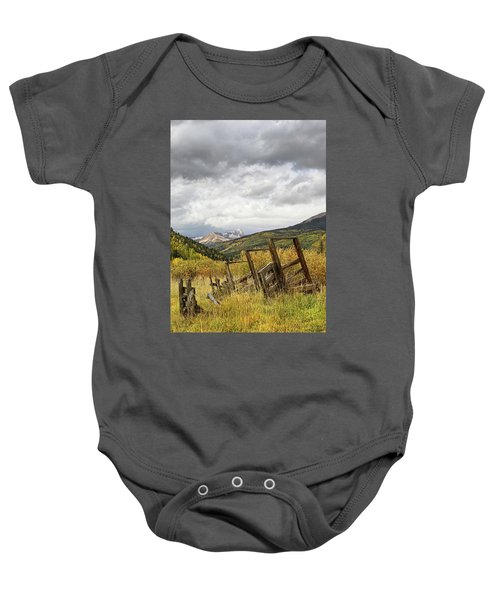 Remains Of A Corral Baby Onesie