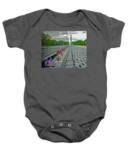 Remembrance Of Patriotism Baby Onesie
