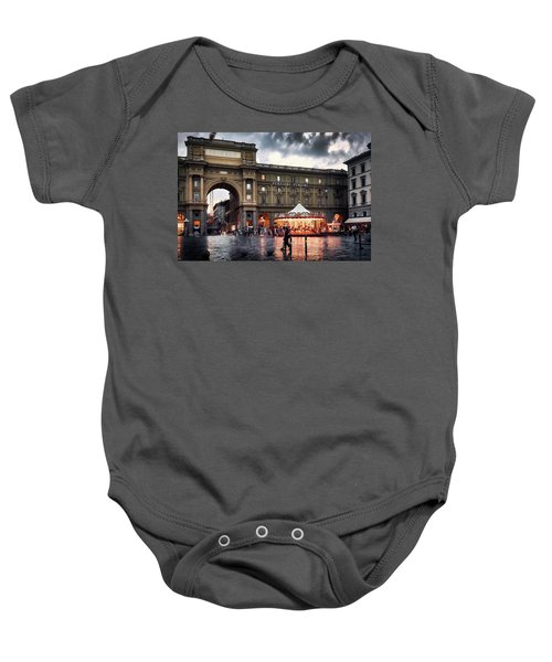 Republic Square In The City Of Florence Baby Onesie