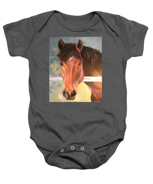 Reverie - Quarter Horse Baby Onesie