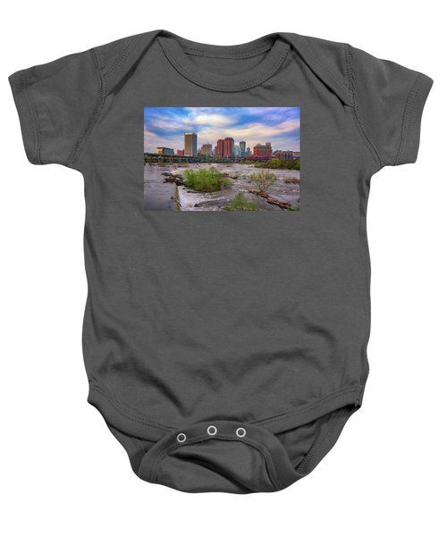 Richmond Skyline Baby Onesie