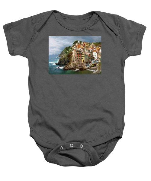 Riomaggiore Italy Baby Onesie