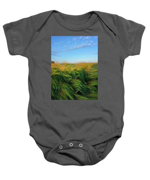 Ripening Barley Baby Onesie