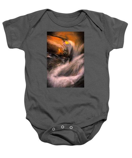 River Flow, Zion National Park Baby Onesie