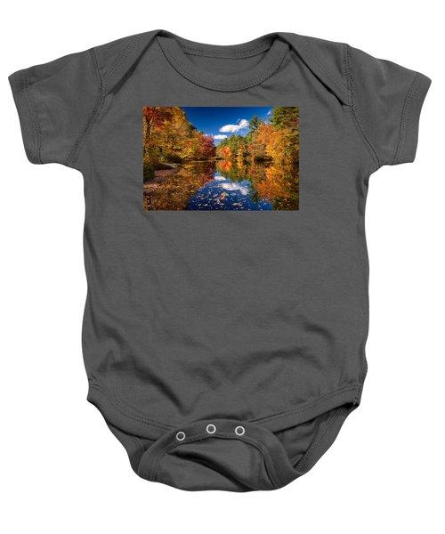 River Mirage Baby Onesie
