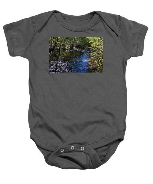 River Of Peace Baby Onesie