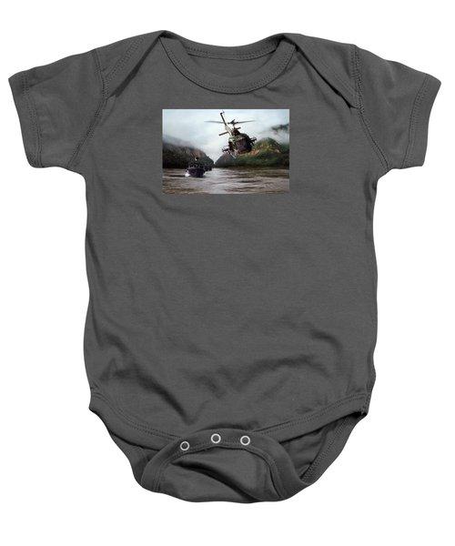 River Patrol Baby Onesie