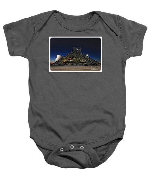 Rock And Roll Hall Of Fame - Cleveland Ohio - 5 Baby Onesie