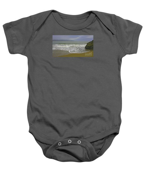 Rock And Sand Baby Onesie