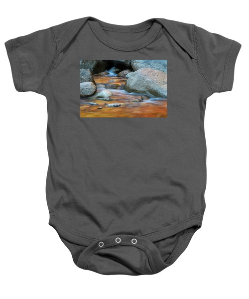 Rock Cave Reflection Nh Baby Onesie