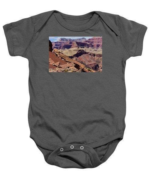 Rock Formations In The Grand Canyon Baby Onesie