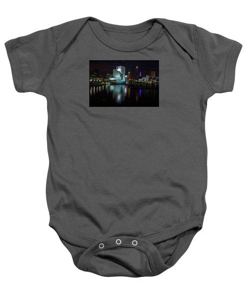Rock Hall Reflections Baby Onesie