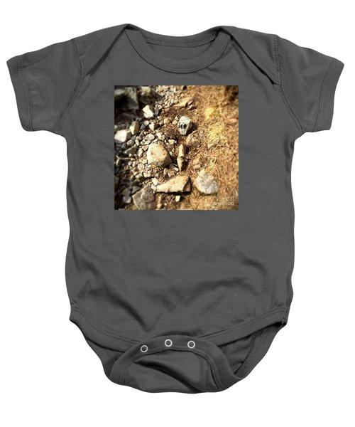 Rock Skull Baby Onesie