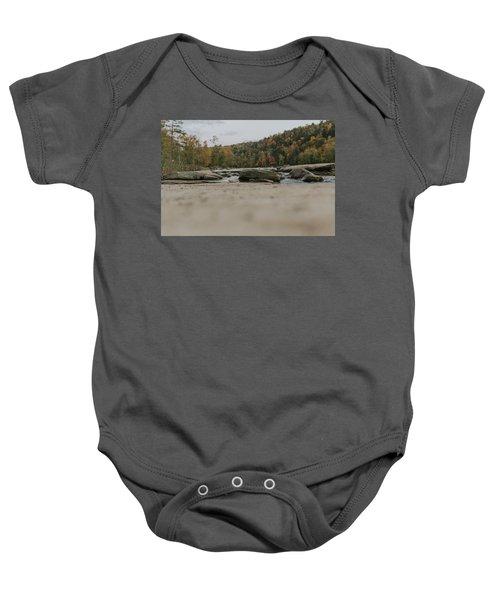 Rocks On Cumberland River Baby Onesie