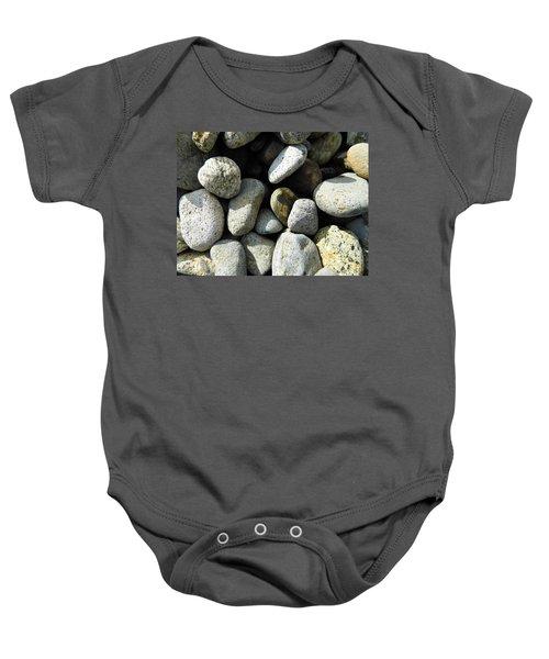 Rocks Baby Onesie