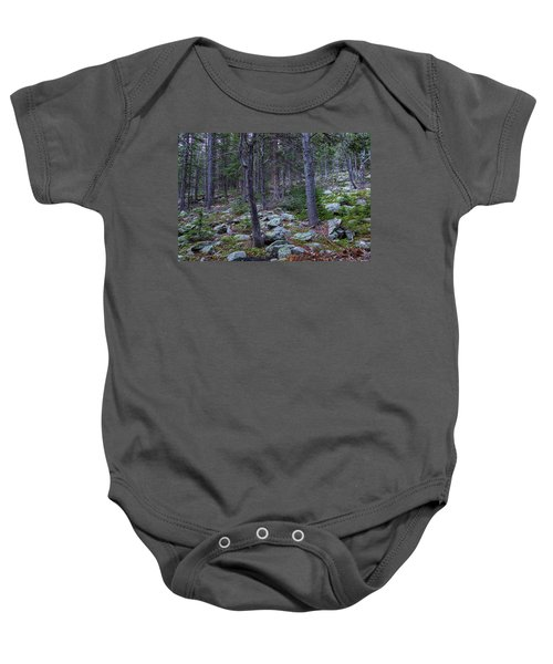 Baby Onesie featuring the photograph Rocky Nature Landscape by James BO Insogna