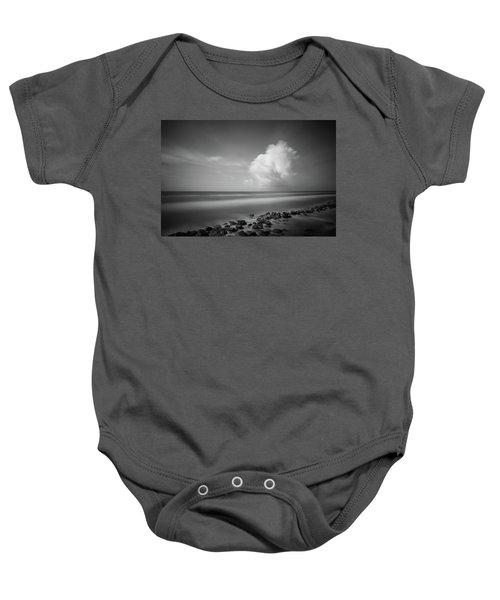 Rocky Shoreline Baby Onesie