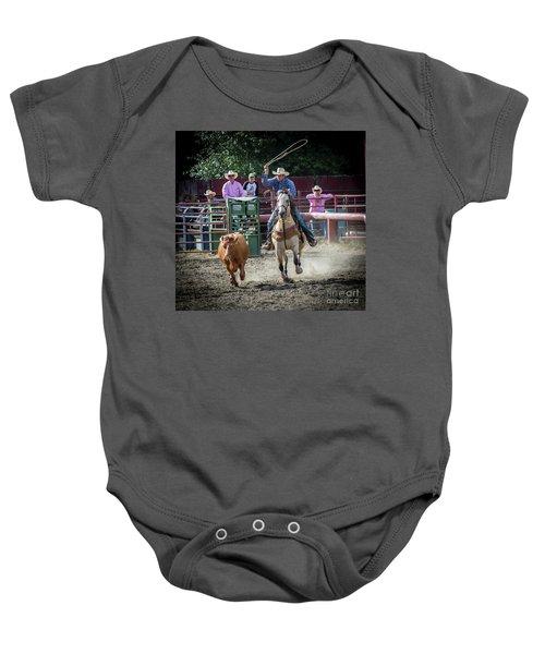 Cowboy In Action#1 Baby Onesie