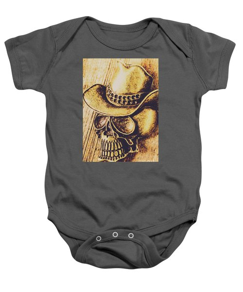 Rodeo Spook Baby Onesie