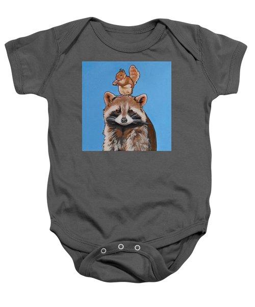 Rodney The Raccoon Baby Onesie