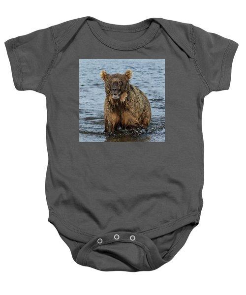 Rogue Bear  Baby Onesie