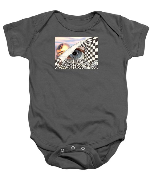 Roll Back Baby Onesie